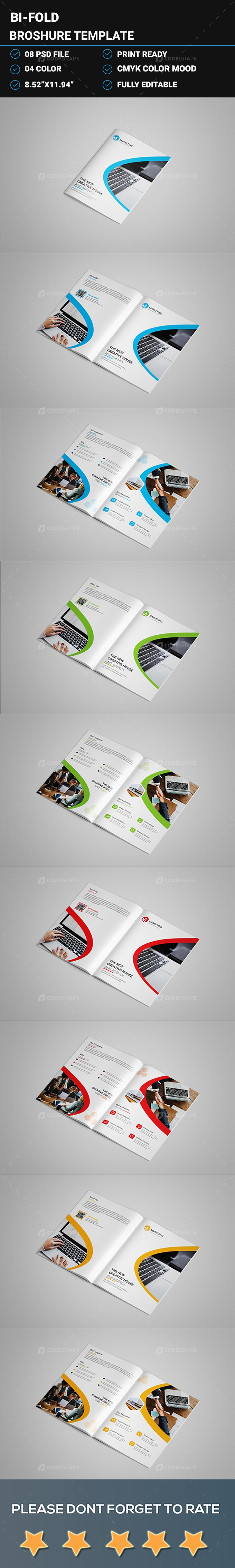 Bifold Brochure Design