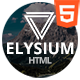 Elysium Responsive Coming Soon Template