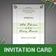 Elegant Wedding Invitation Card