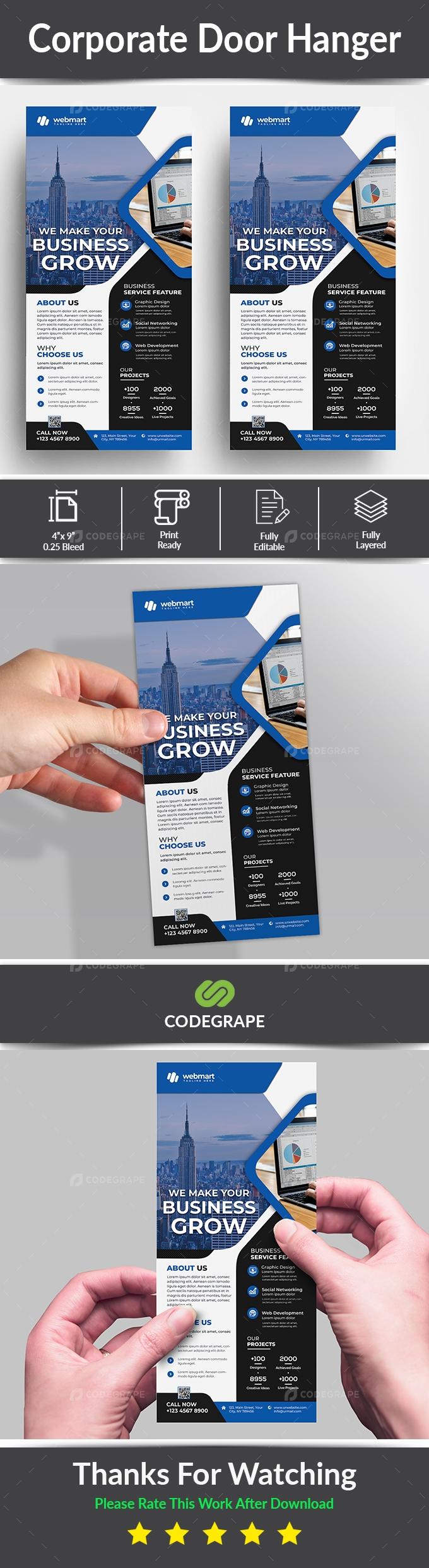 Corporate Rack Card