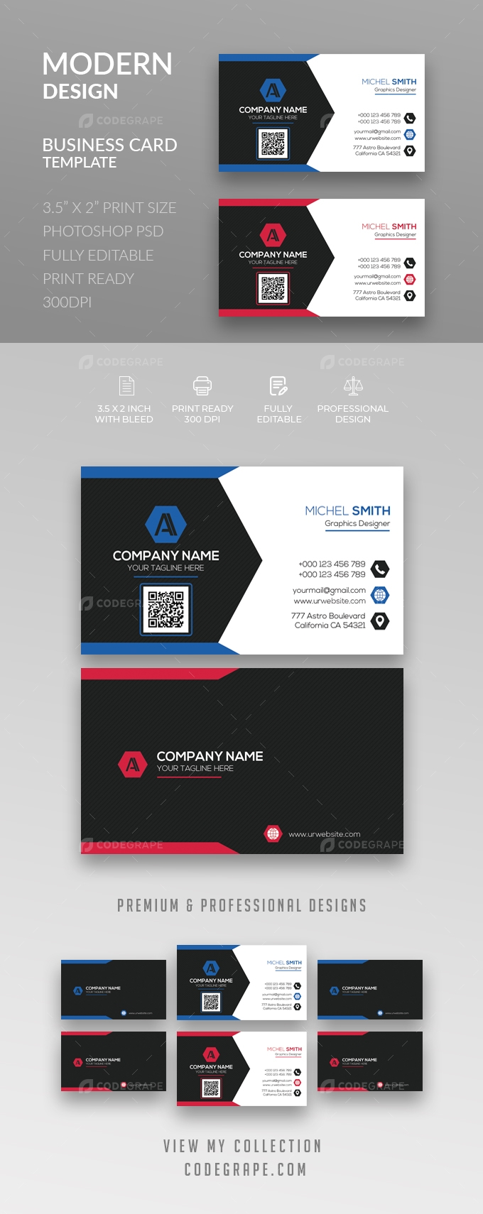 Corporate Business Card [VOL-23]
