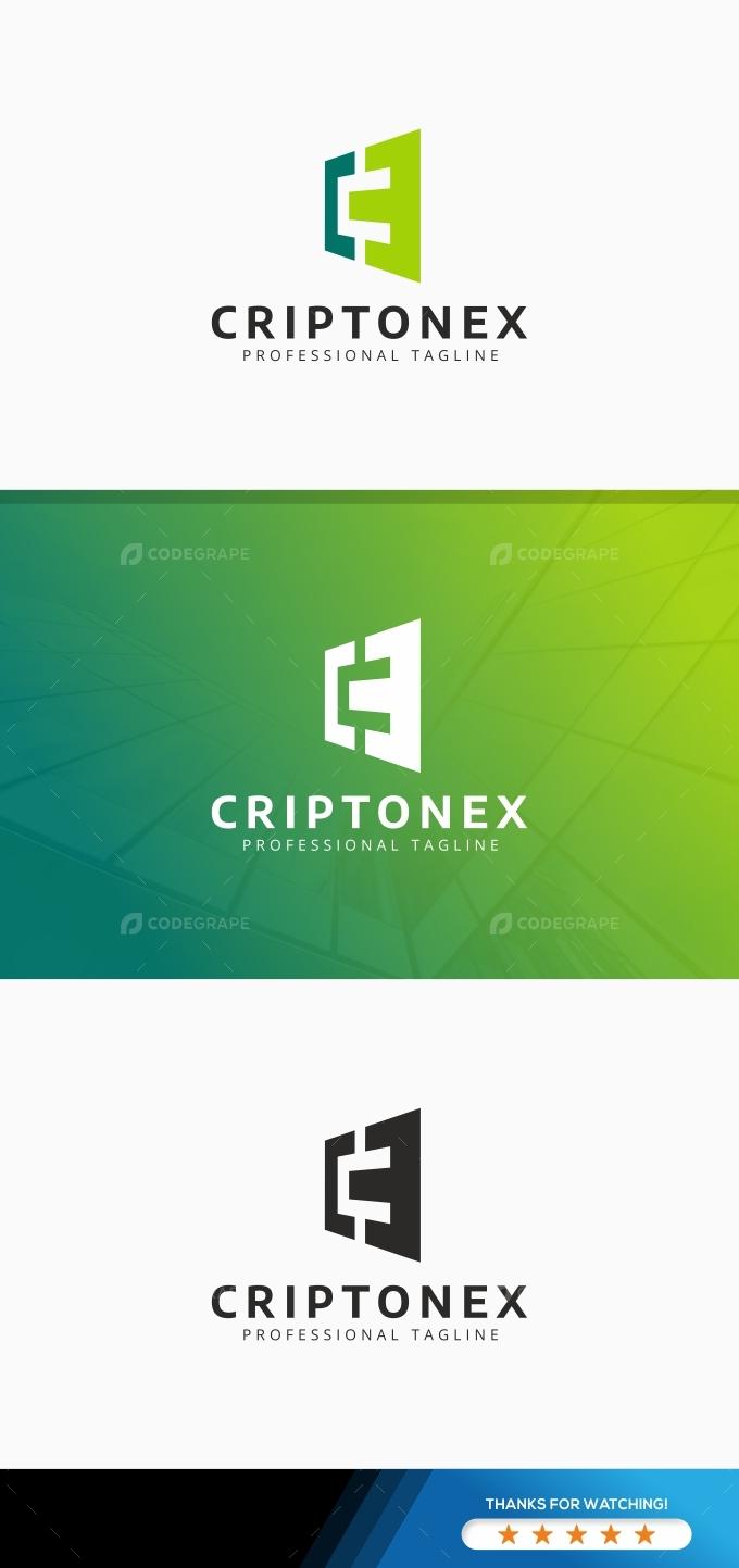 Criptonex C Letter Logo