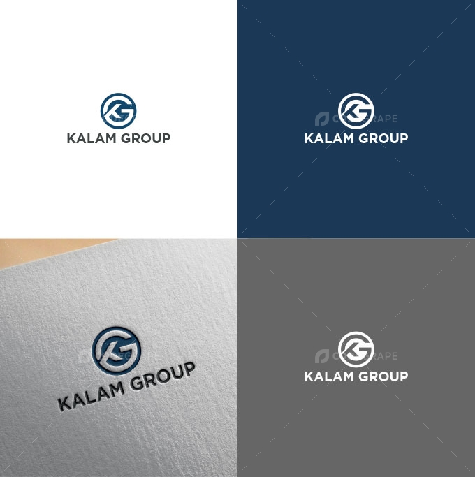 K & G  Letter Logo Design