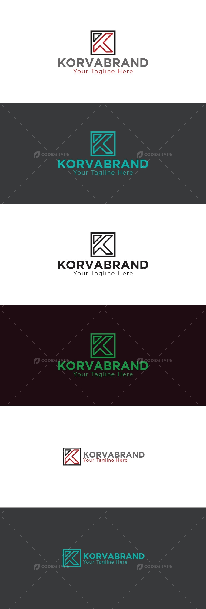 K  Letter Logo Design