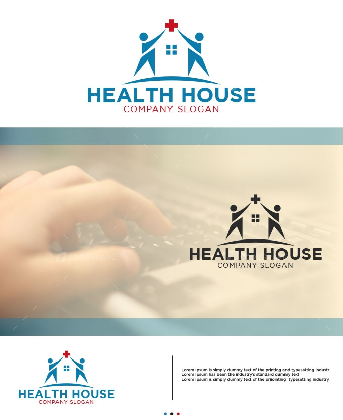 Healthcare/Medical House Logo Design