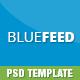 BLUEFEED - Multi-Purpose PSD Landing Page