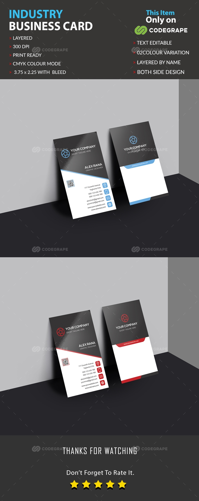 Industry Business Card