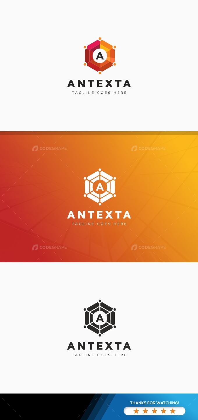 Antexta A Letter Logo