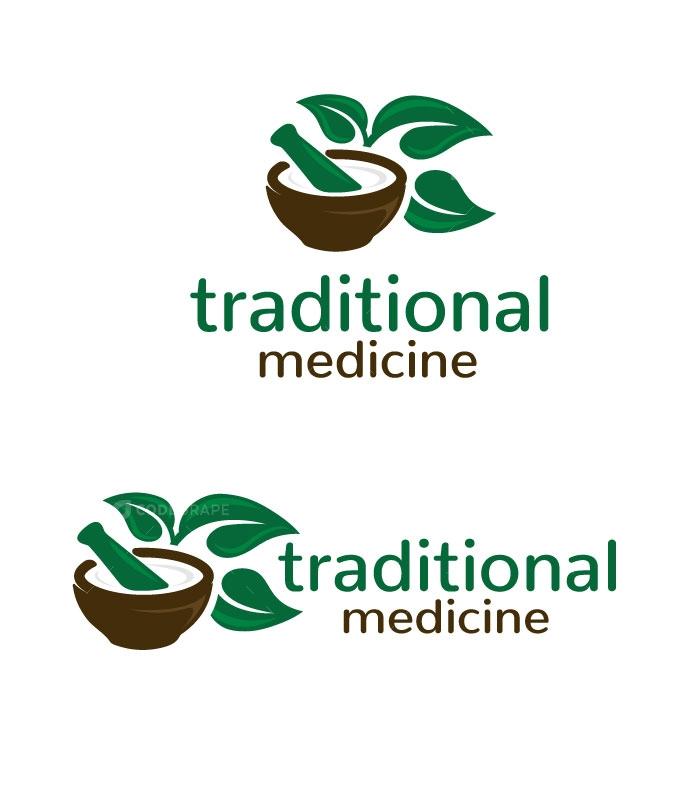 Medicine Traditional Logo