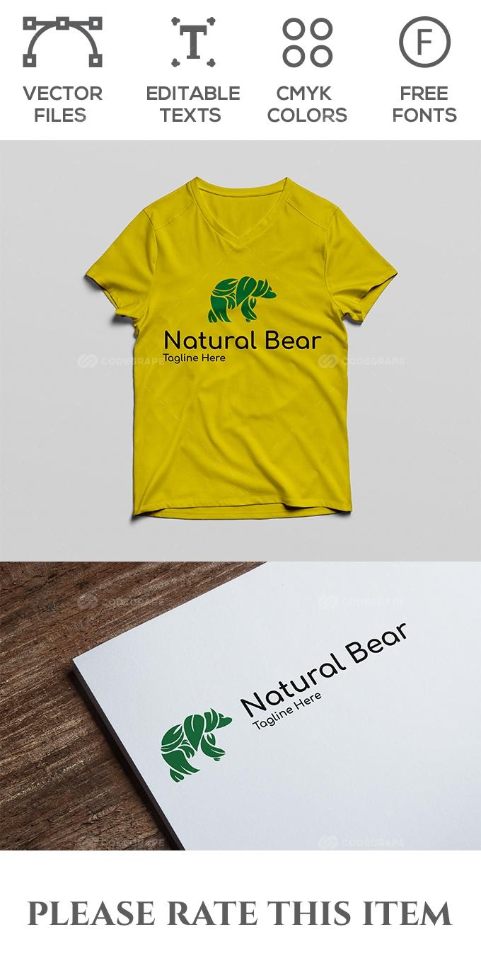 Natural Bear Logo
