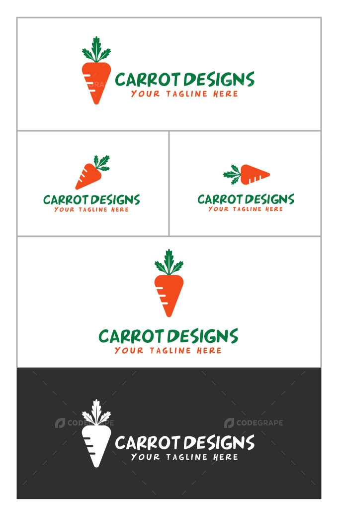 Carrot Logo Design
