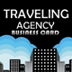 Traveling Agency Business Card