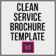 Clean Service Brochure Template