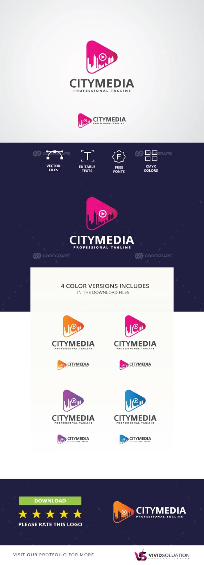 City Media Logo