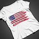 USA Flag T-Shirt Design