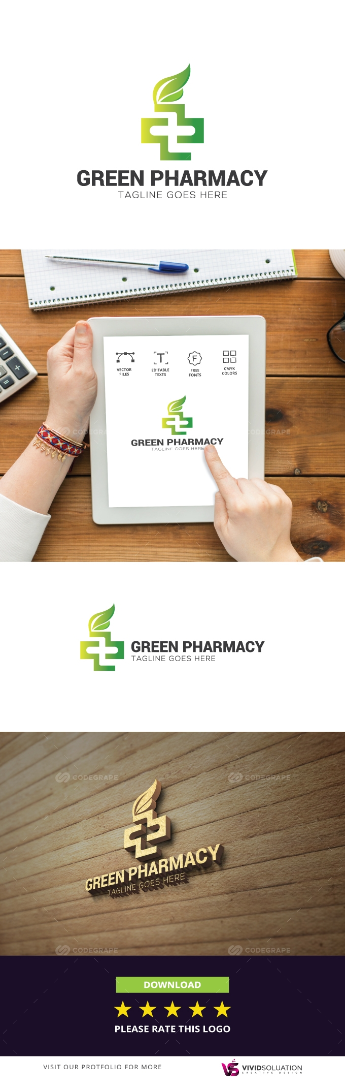 Pharmacy Logo Design