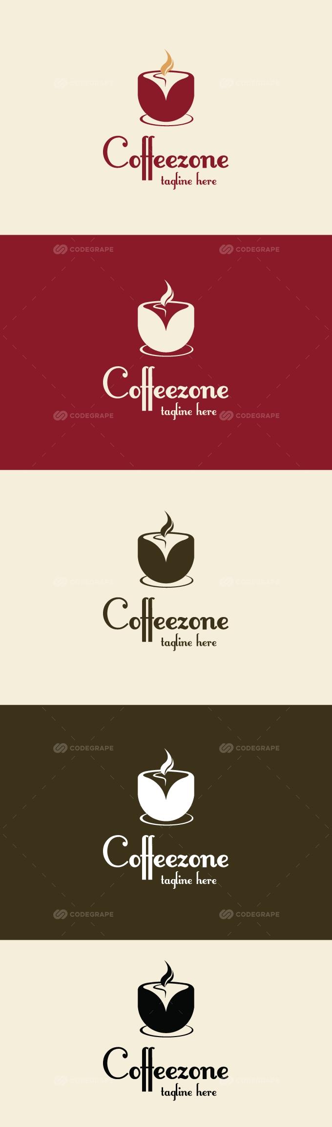 Coffee zone Logo (Restaurant)