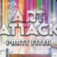 Art Attack Flyer Template