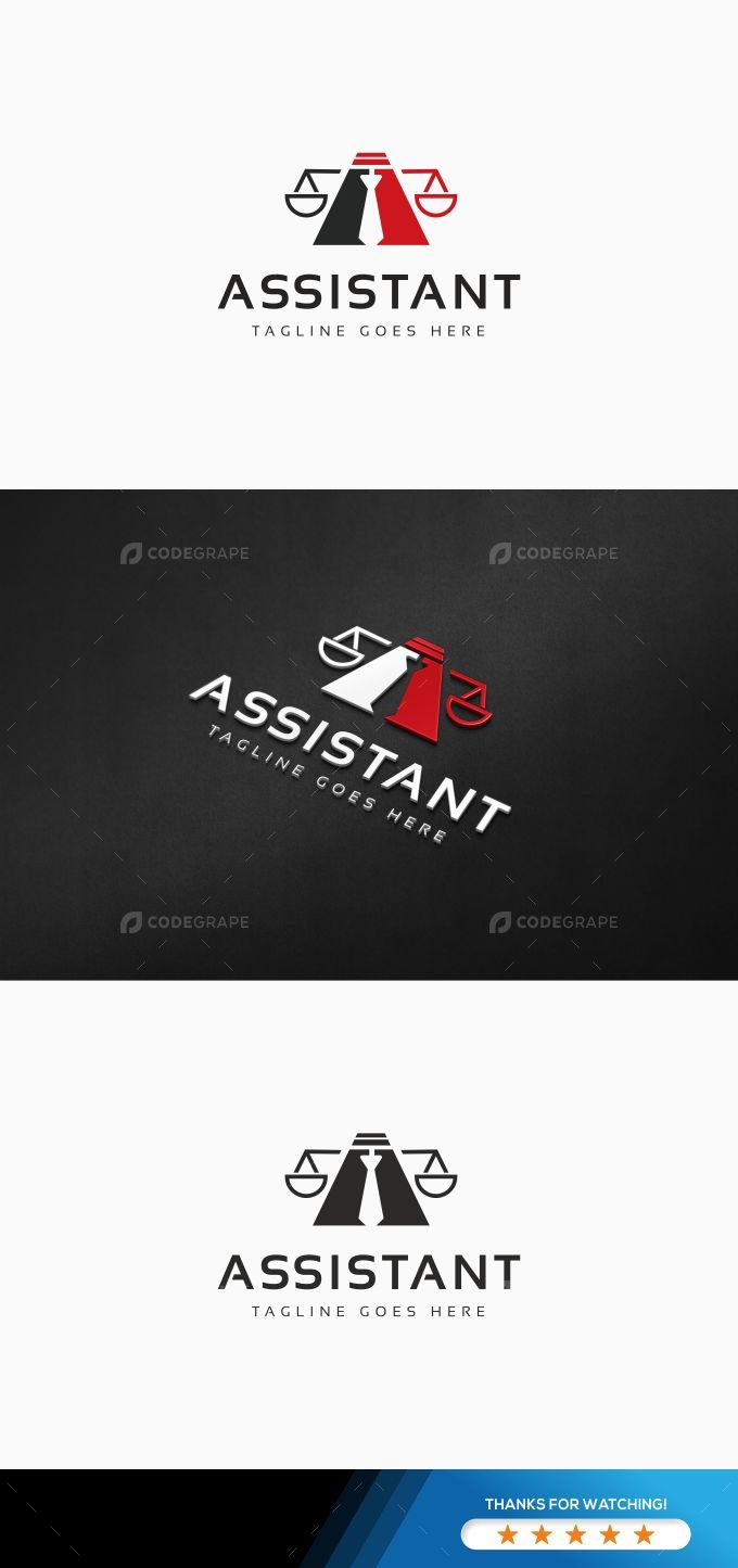 Assistant Law Company Logo