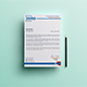Corporate Letterhead Template