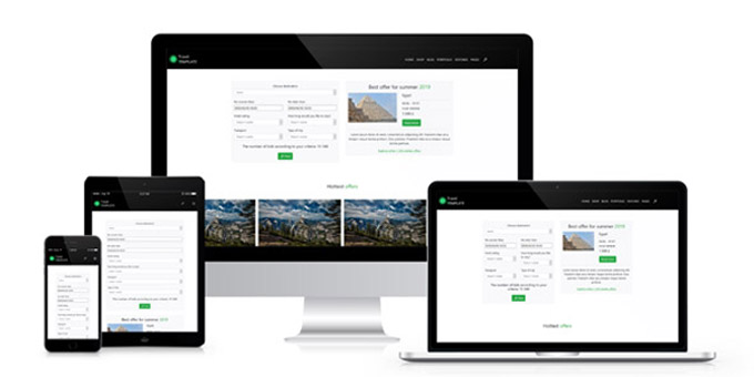 Travel Agency - HTML template