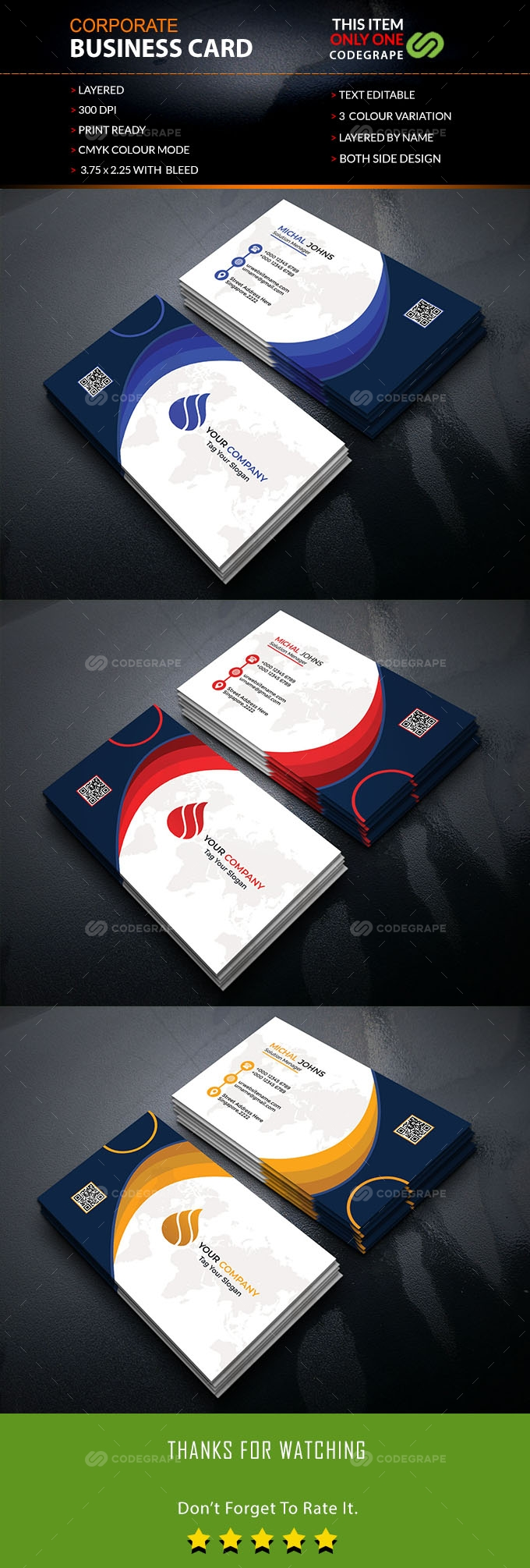 Creative Business Card Vol. 01