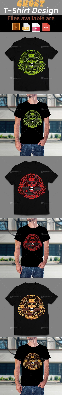 Ghost T-Shirt Design