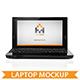 Laptop Computer Mockup