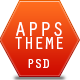 Apps PSD Theme Template