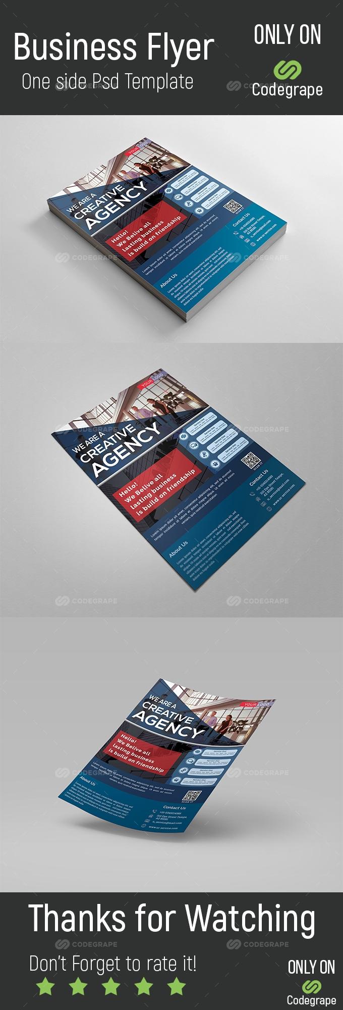 A4 Business Flyer
