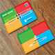 Modern Colourful Business Card