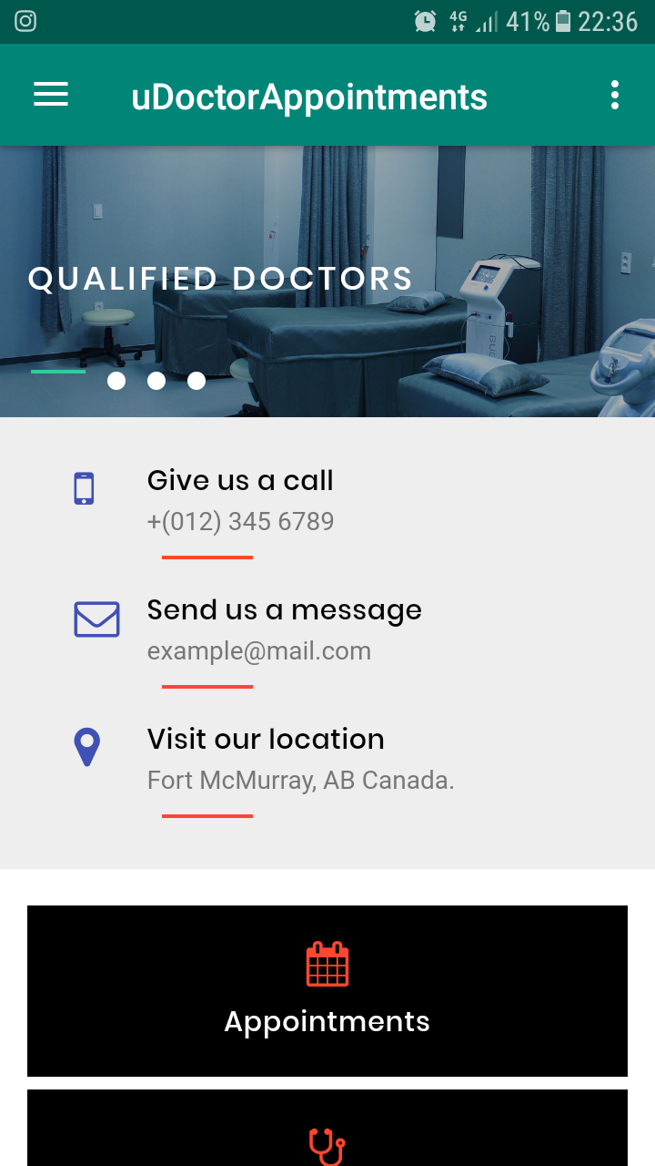 Doctor Appointment Booking App For Android Preview - CodeGrape