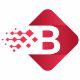 Cubical B Letter Logo