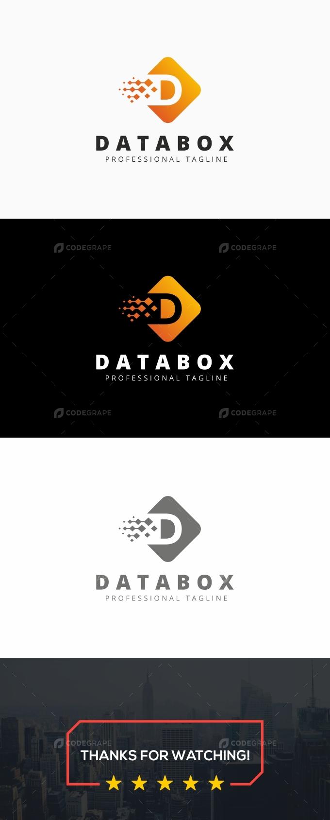 Data Box - D Logo