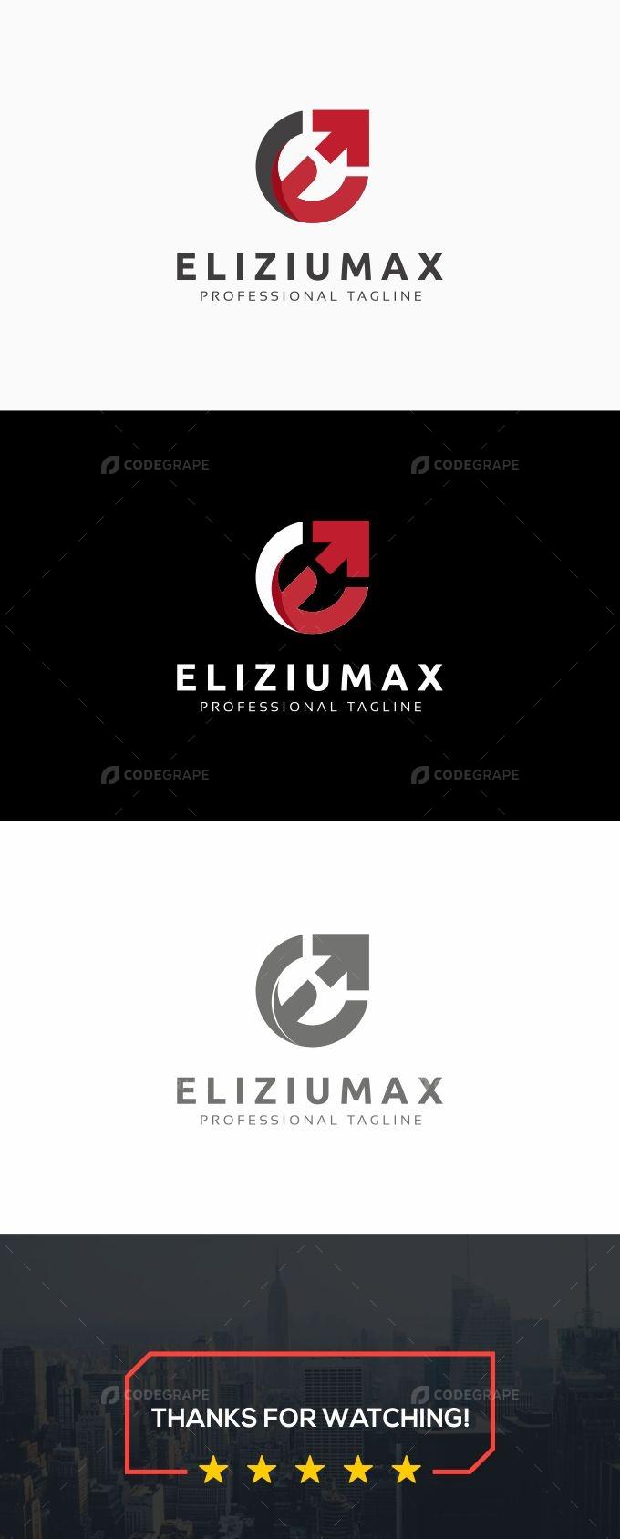 E Letter - Eliziumax Logo