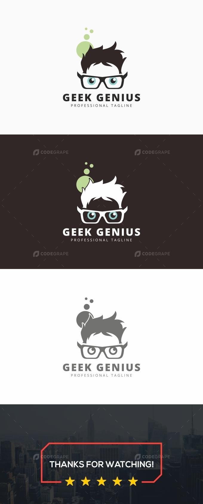 Geek Genius Logo