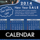 2014 Calendar Business Flyer
