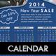 2014 Calendar Business Flyer