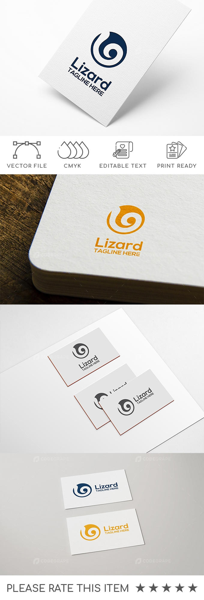 Lizard Logo Design