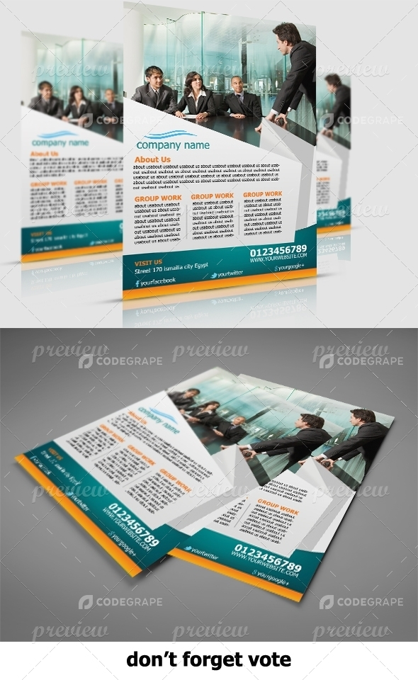 Corporate Product Flyer