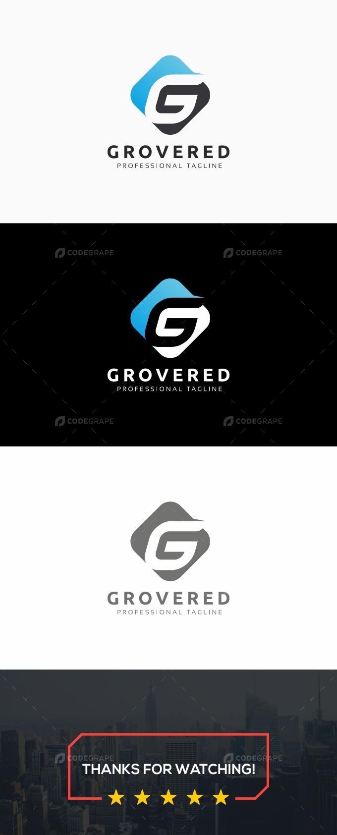 Grovered G Letter Logo