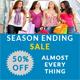 Season Ending Sale Banners