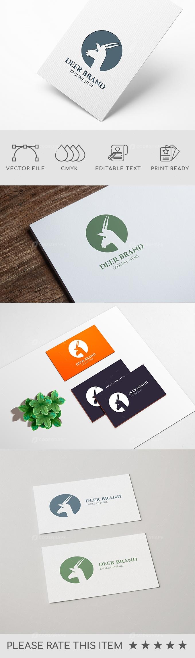 Deer Brand Logo