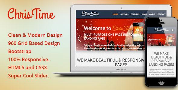 ChrisTime - Responsive HTML5 Template