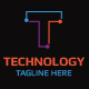 Technology T Letter Logo