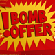 Bomb Offer PSD Template