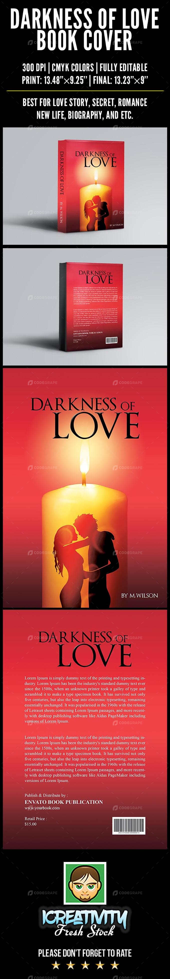 Darkness of Love Book Cover
