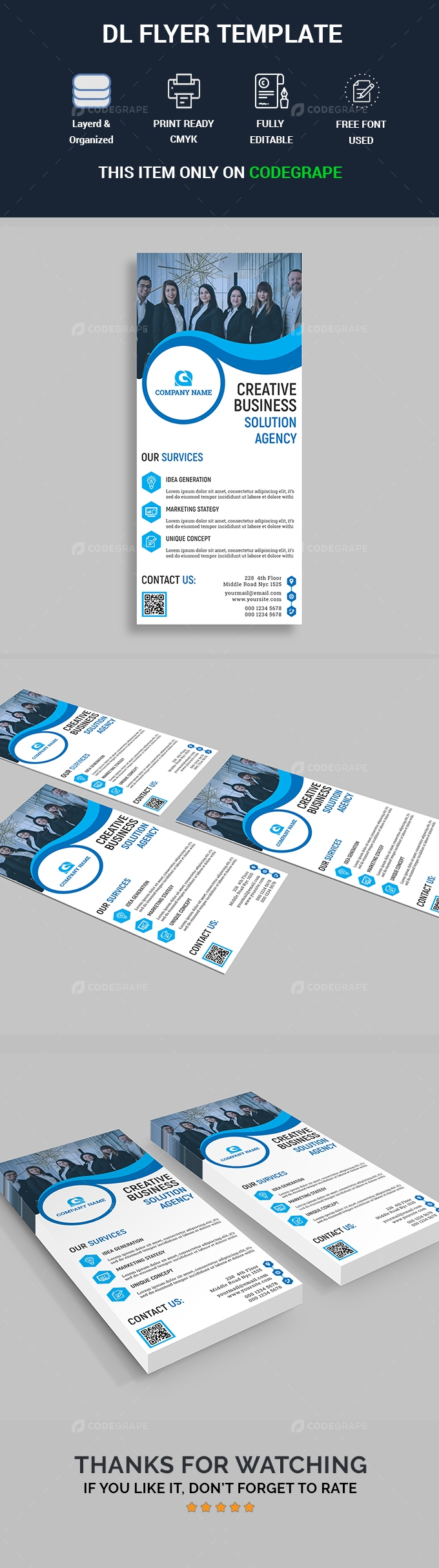 Creative DL Flyer Template