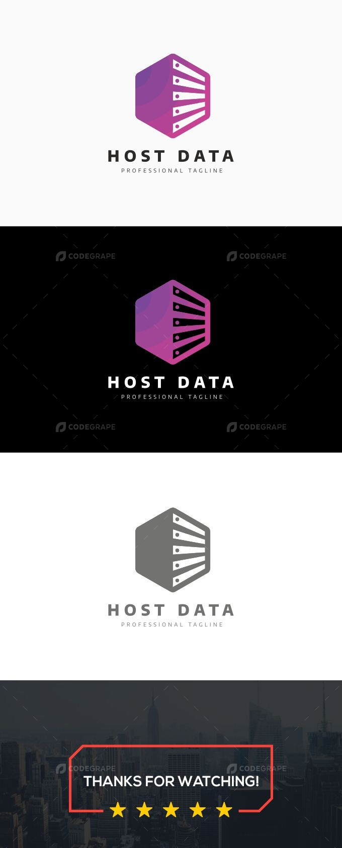 Host Data Logo