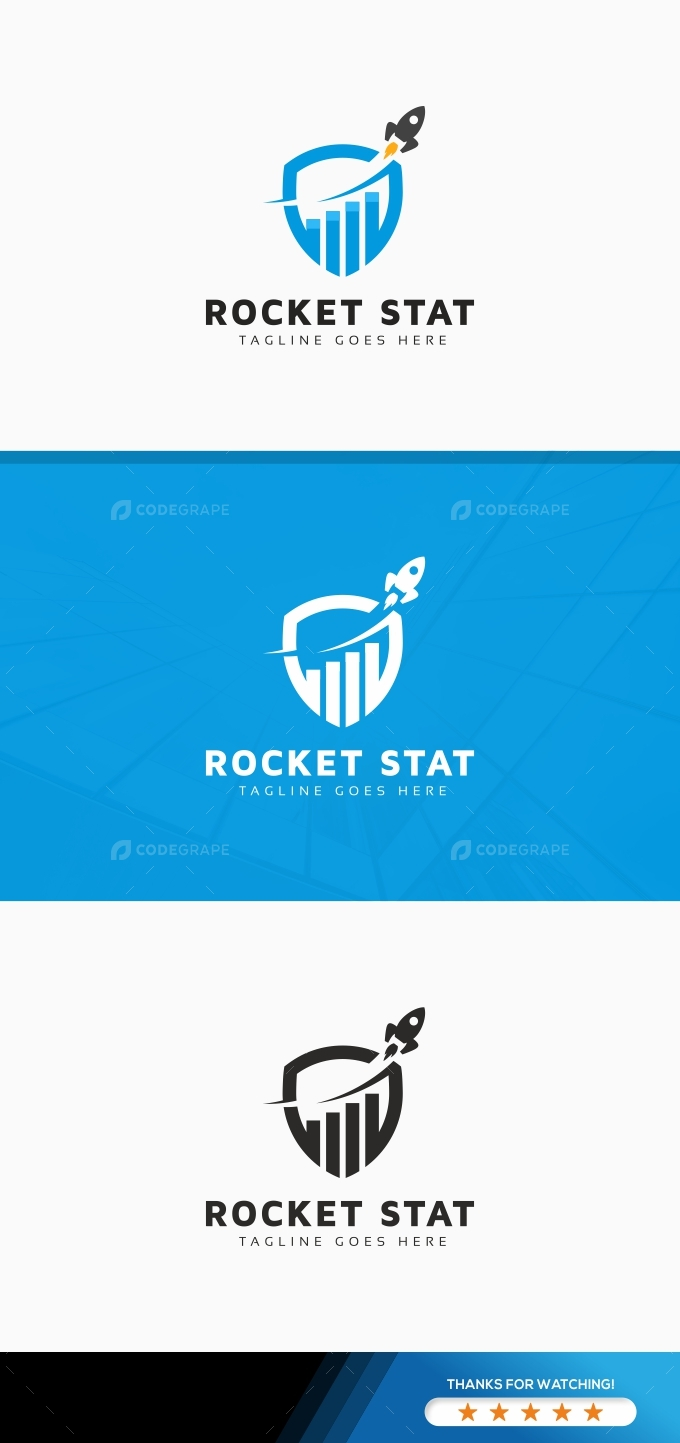 Rocket Stat Logo